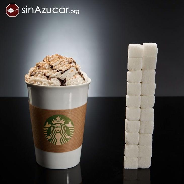azúcar escondido en alimentos y bebidas