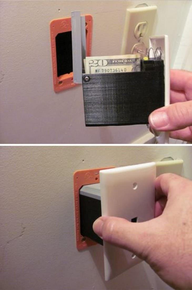 13 lugares para esconder objetos en casa