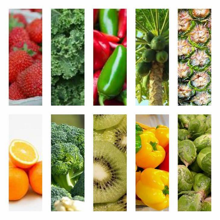 Vitaminas contienen alimentos 10 que