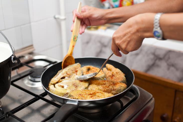 errores al cocinar pescado