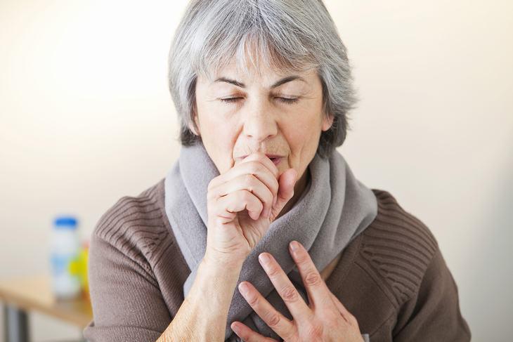 Daños de la tos