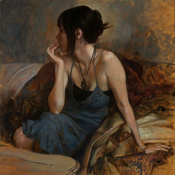 pinturas al oleo Osamu Obi