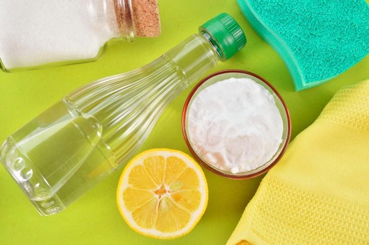 13 productos de limpieza caseros