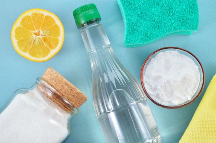 usos vinagre y lavadora
