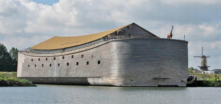 Arca De Noé De Tamaño Real