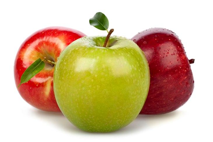eliminar cera manzanas