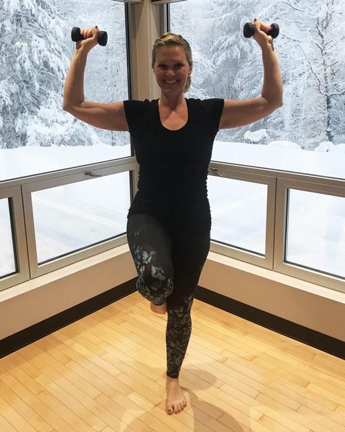 ejercicios brazos y abdomen