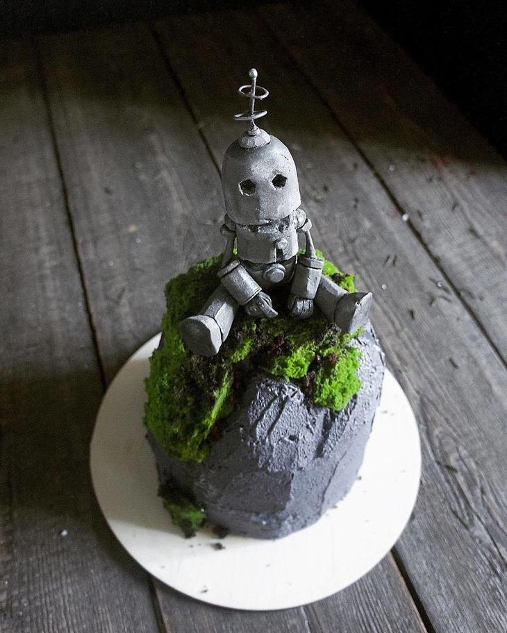 pasteles, arte, Elena Gnut