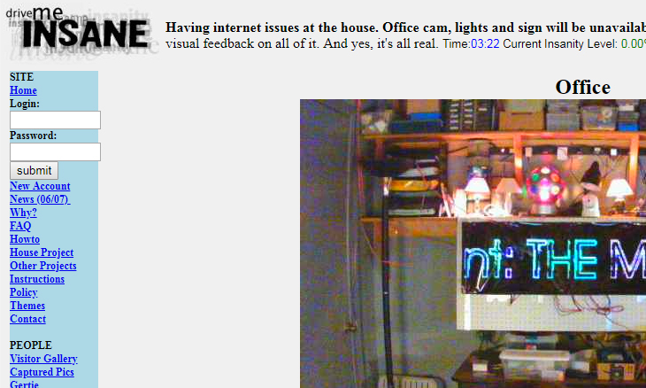 streaming, webcam, directo