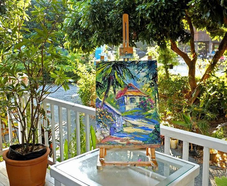 jungla Natalya Shiraeva pinturas