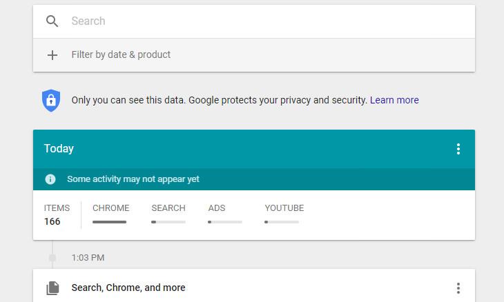 eliminar historial de google