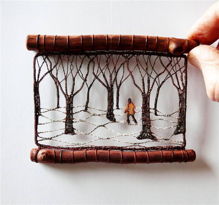 arte en miniatura