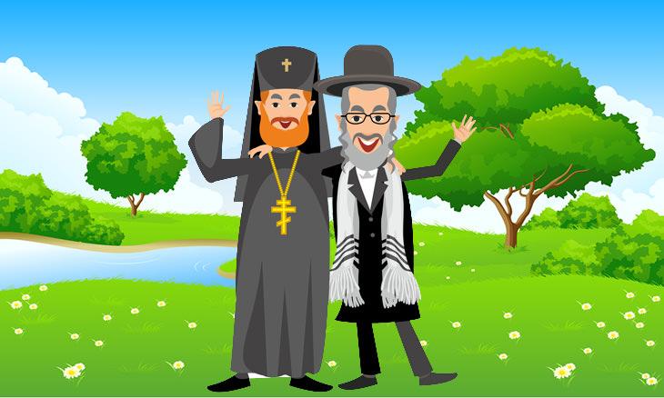 sacerdote rabino auto