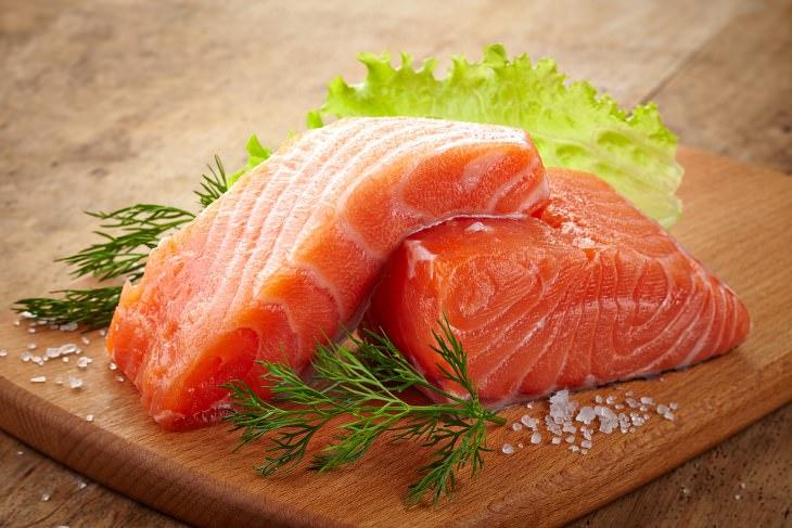 alimentos colágeno piel joven salmon