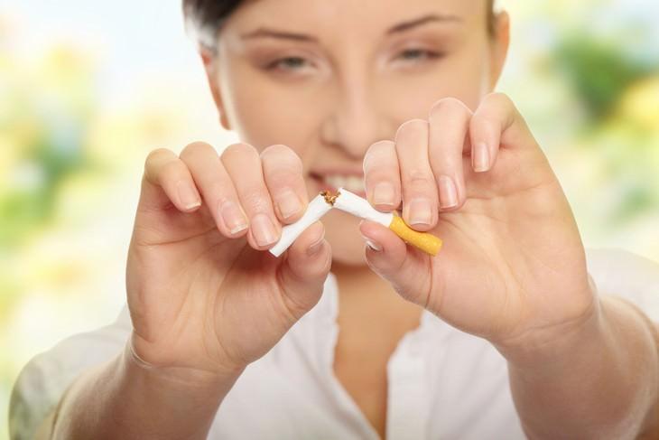 dieta para dejar de fumar