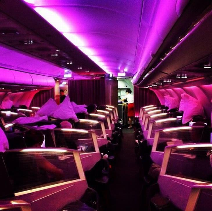 vuelos en primera clase diferentes aerolíneas