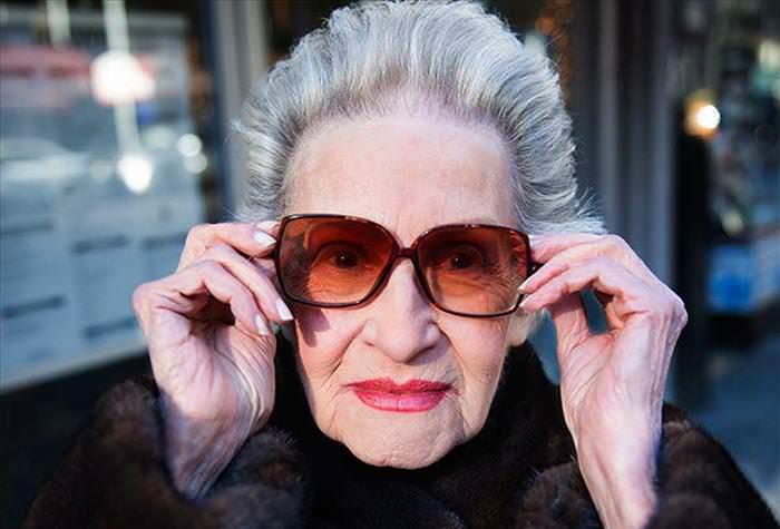 modelos de 60 años de Nueva York