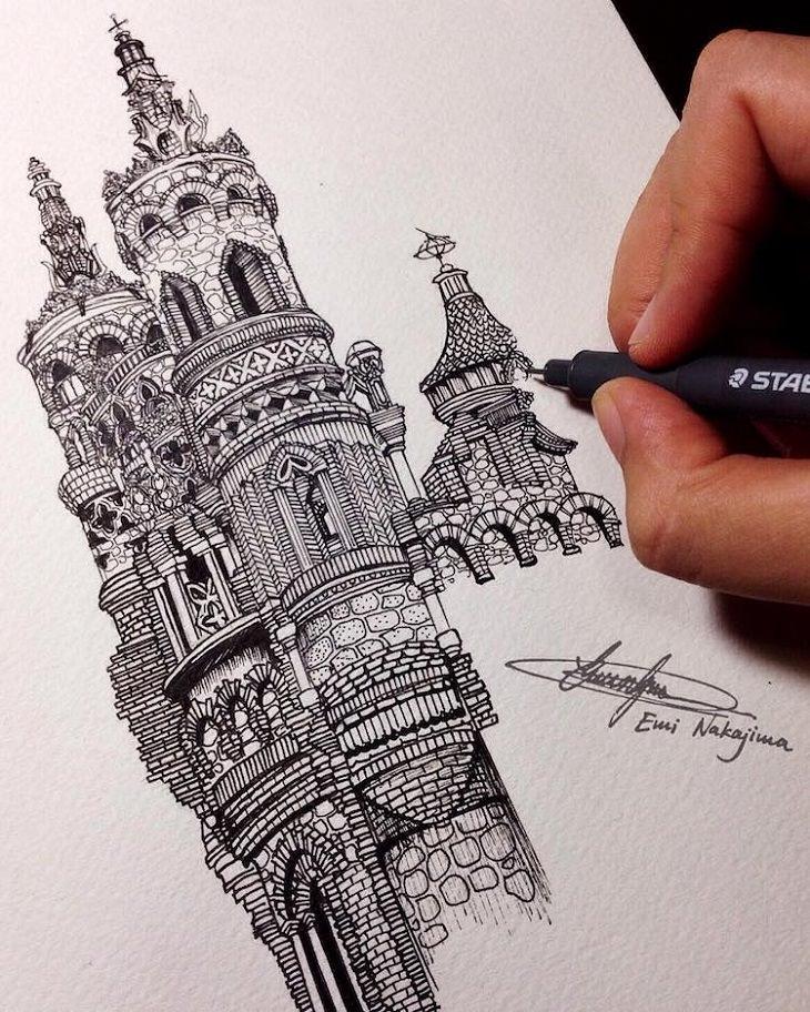 dibujos a tinta
