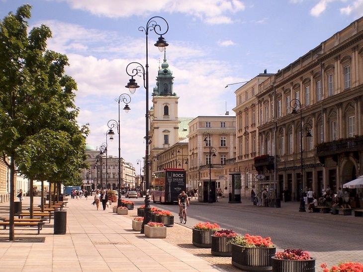lugares en Polonia