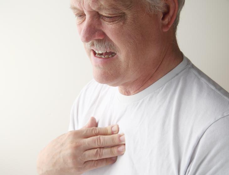 dolor agudo en pecho