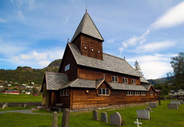 Iglesias De Madera, Uno Los Tesoros De Noruega