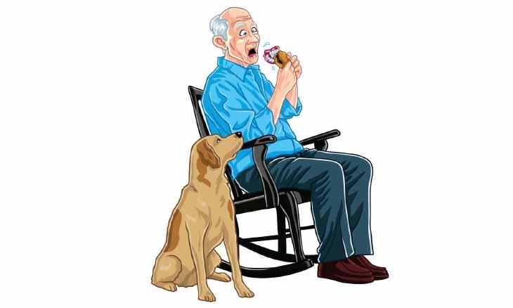 broma ancianos hamburguesa