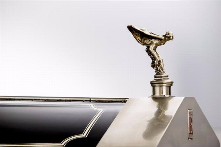 Rolls Royce parte delantera