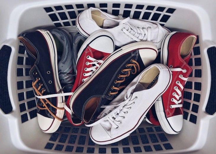 Suelas Zapatos limpias