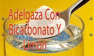 adelgaza bicarbonato y limon
