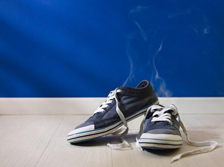 Mal Olor Pies Cambiar Zapatos