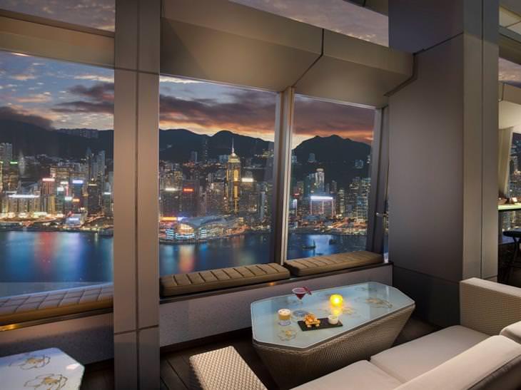 Bares Azotea Ozono, Hong Kong