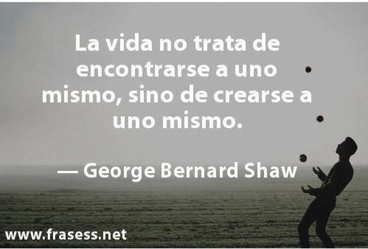 8 frases de la vida george shaw