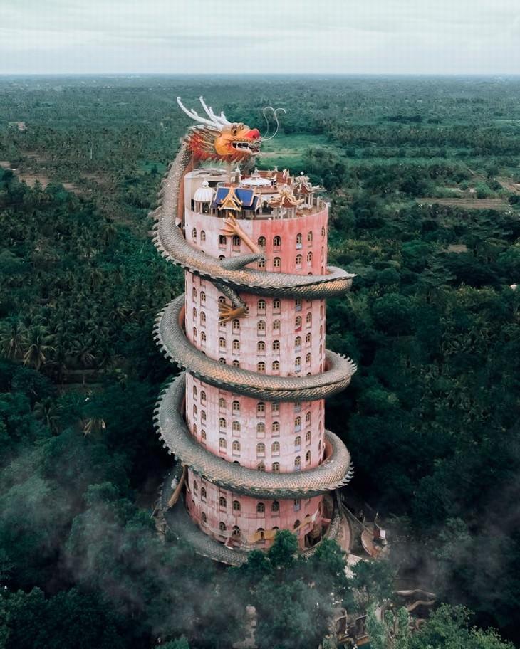 Templo del dragón, Tailandia
