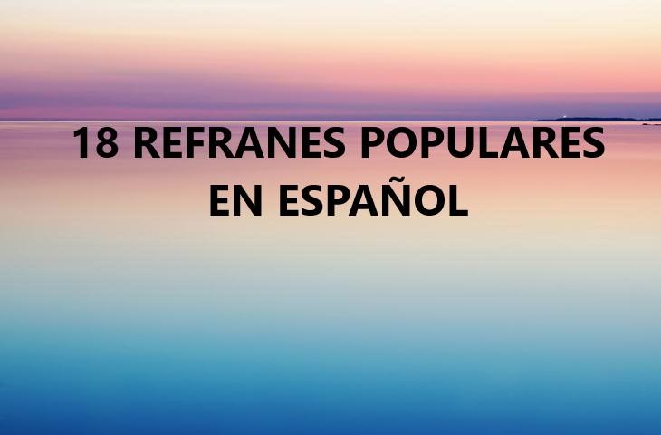 Refranes En Español