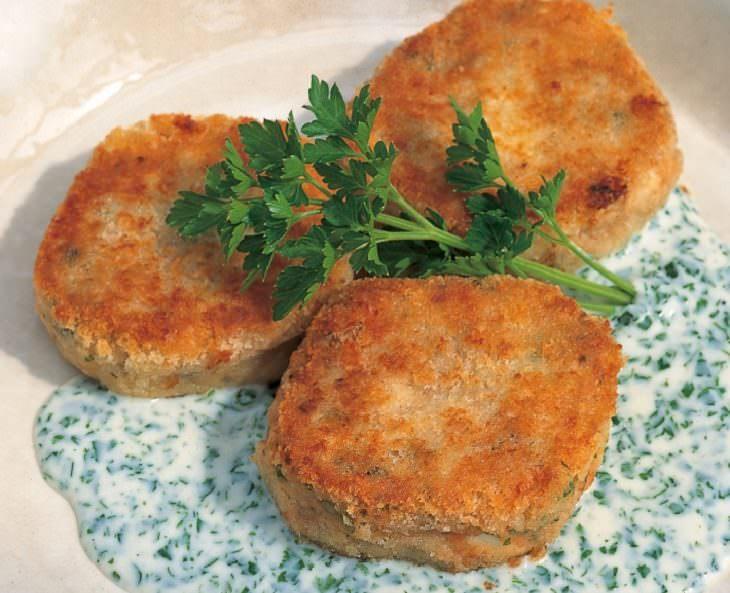tortitas salmón receta