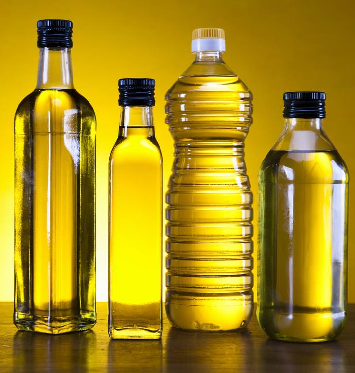Elegir el mejor aceite de cocina