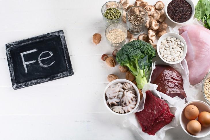 los 5 nutrientes que más faltan en tu dieta Hierro
