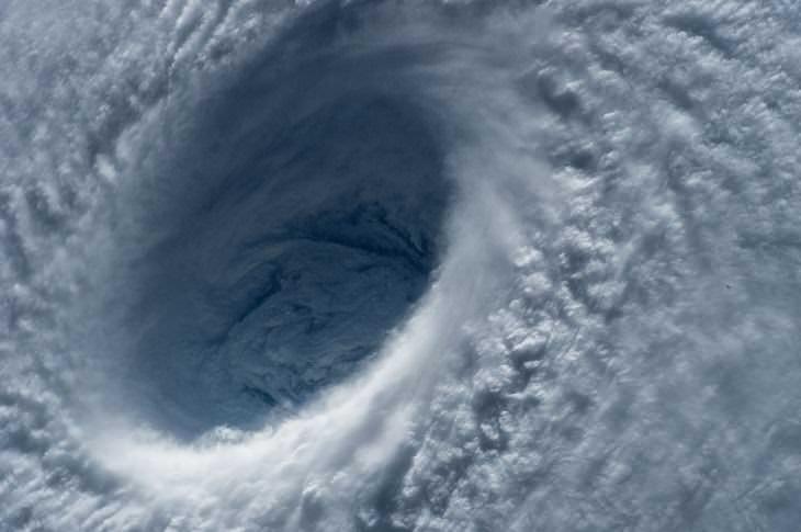 5 hombres navegaron en un bote salvavidas a través de un tifón