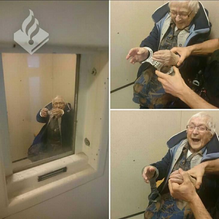 Señor de 99 años arrestada