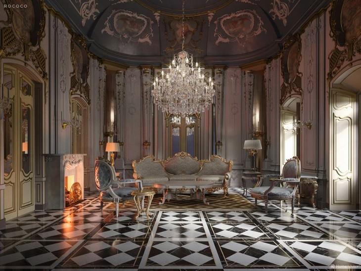 Diseño De Interiores Rococó