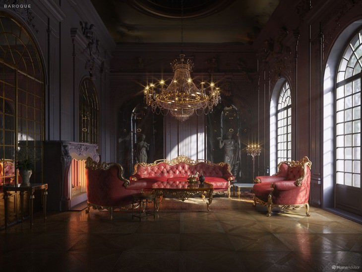 Diseño De Interiores Barroco