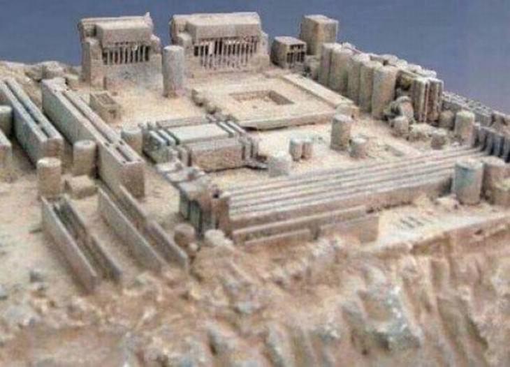 Ilusiones Ópticas ruina antigua