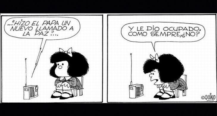 15 Historietas De Mafalda Para Reflexionar | Divertidos