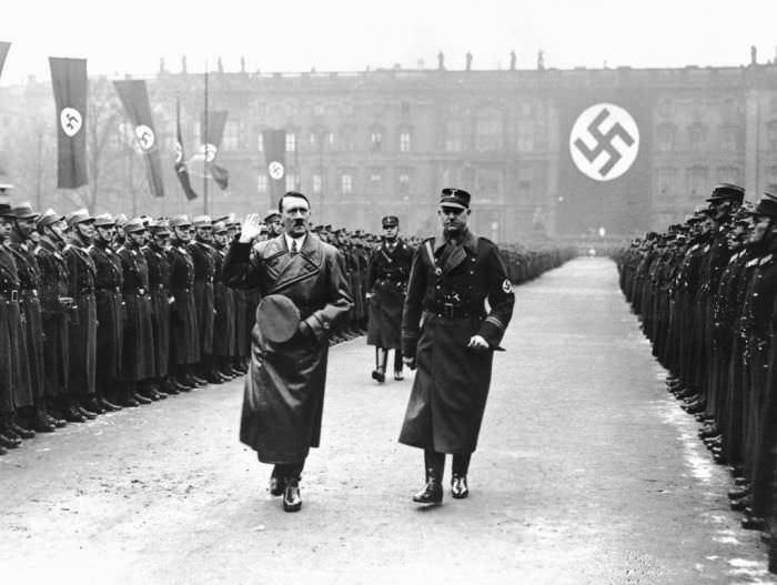 Hitler durante el tiempo de guerra