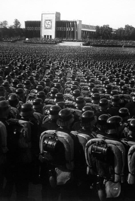 Soldados alemanes de las SS