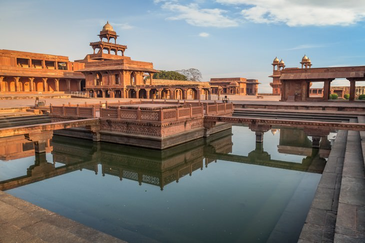 Piscina Fatehpur Sikri, India