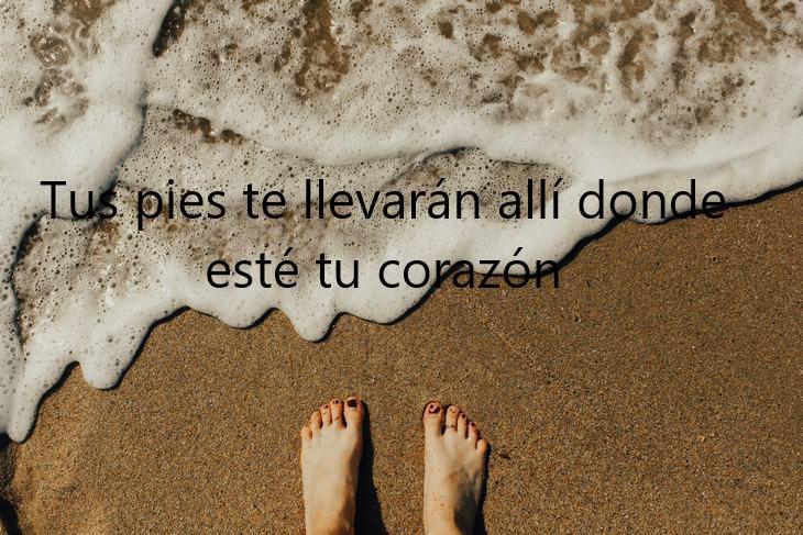 Proverbios Celtas tus pies te llevan