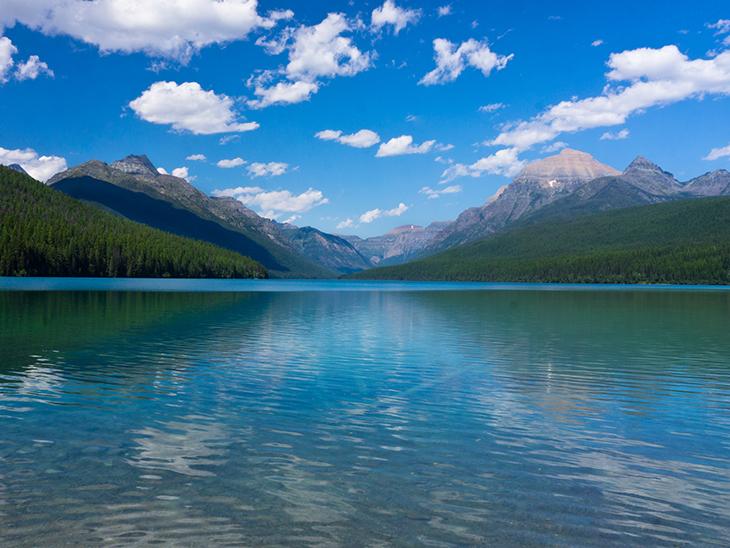 Lago Flathead, Montana