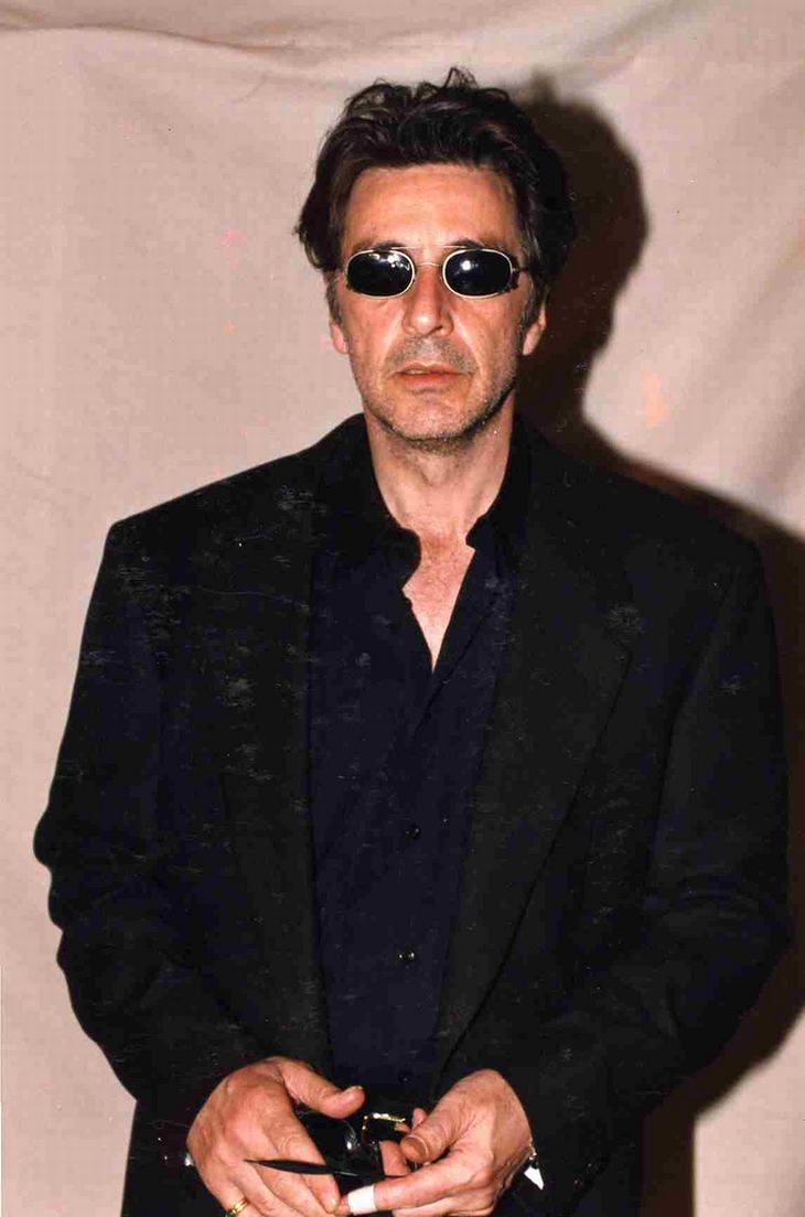 Frases Al Pacino  No hay método. Hay que ser natural.