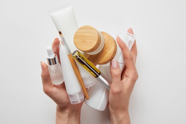 Aplicar productos para la piel en orden incorrecto
